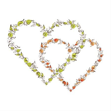 Valentine heart Illustration