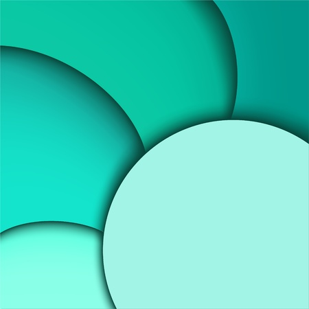 Abstract aquamarine background  Wavy design Vector