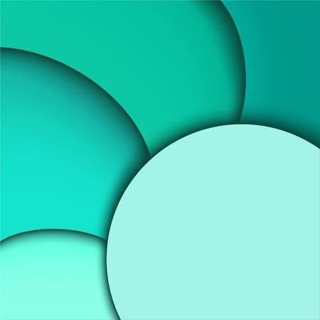 Zusammenfassung Hintergrund Aquamarin Wavy Design Standard-Bild - 13172695