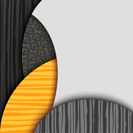 Abstract background with patterned layers  EPS10 Vector