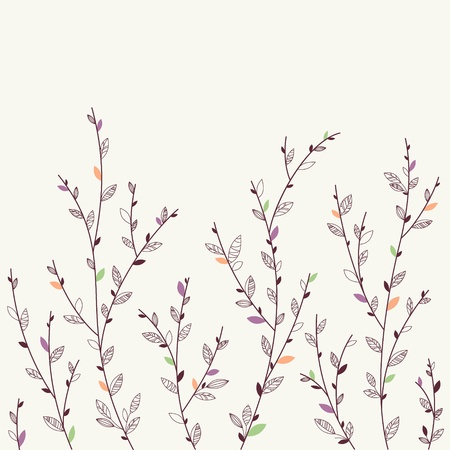 peachy: Floral background  Design elements  Spring