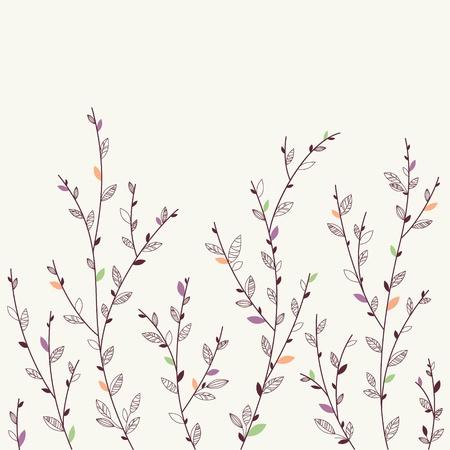 Floral background  Design elements  Spring