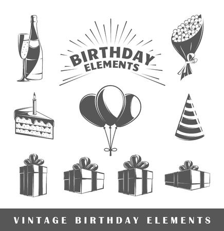 happy birthday design: Birthday icon