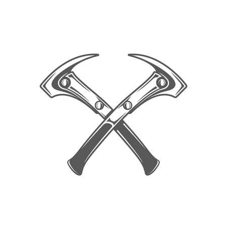 Hammers isolated on white background. Modern carpentry tool. Vector illustration