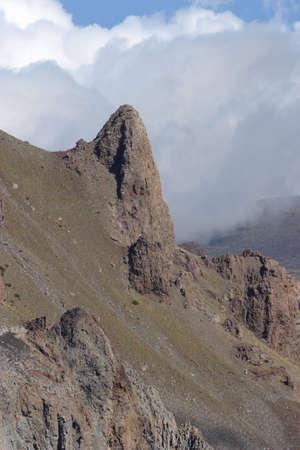 Rock side of Haleakala Crater