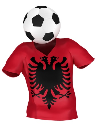 National Soccer Team of Albania | All Teams Collection |  Isolated photo
