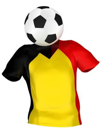 National Soccer Team of Belgium | All Teams Collection |  Isolated photo