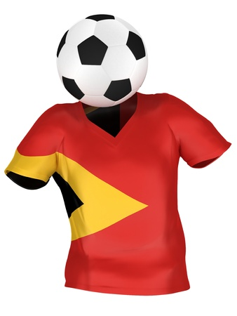 timor: National Soccer Team of East Timor | All Teams Collection |  Isolated