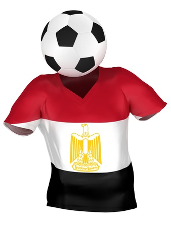 egypt flag: Selecci�n Nacional de F�tbol de Egipto | Todos los equipos de colecci�n | Aislado