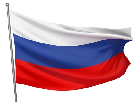 Russia National Flag  | All Countries Collection - Isolated Image
