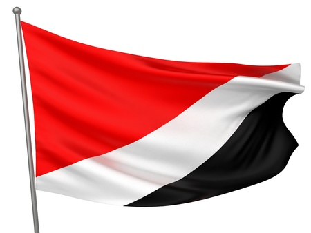 sealand: Sealand, Principality of National Flag  | All Countries Collection - Isolated Image
