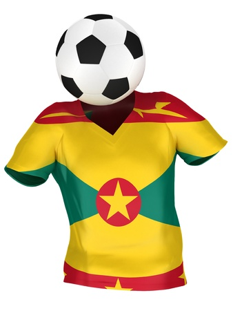 National Soccer Team of Grenada   All Teams Collection    Isolated photo