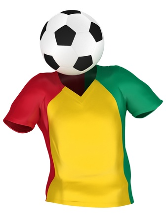 guinea bissau: National Soccer Team of Guinea Bissau | All Teams Collection |  Isolated Stock Photo