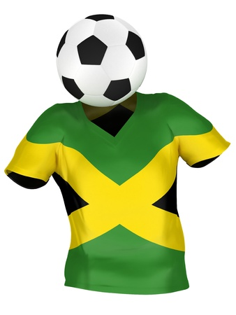 National Soccer Team of Jamaica | All Teams Collection |  Isolated photo