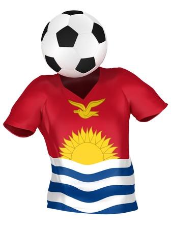 kiribati: National Soccer Team of Kiribati | All Teams Collection |  Isolated