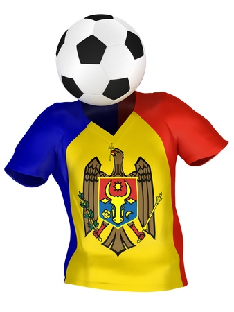 National Soccer Team of Moldova | All Teams Collection |  Isolated