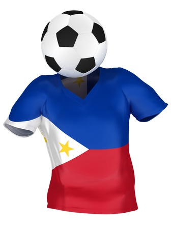 National Soccer Team of Philippines | All Teams Collection |  Isolated photo