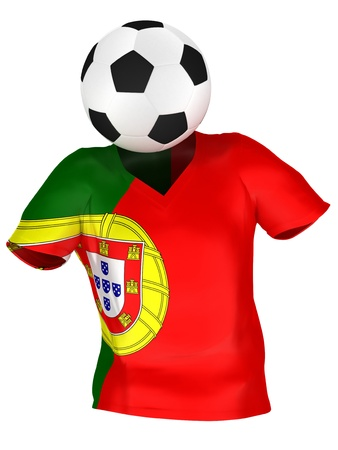 National Soccer Team of Portugal | All Teams Collection |  Isolated photo