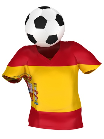 National Soccer Team of Spain | All Teams Collection |  Isolated photo