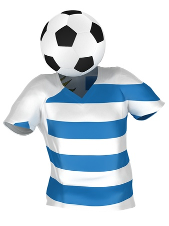 National Soccer Team of Uruguay   All Teams Collection    Isolated photo