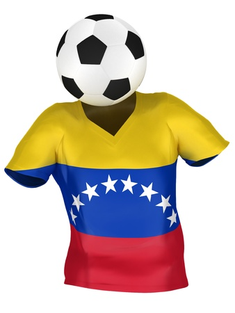 National Soccer Team of Venezuela | All Teams Collection |  Isolated photo
