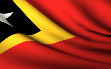 timor: Flying Flag of East Timor | All Countries Collection |