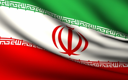 Flying Flag of Iran | All Countries Collection |