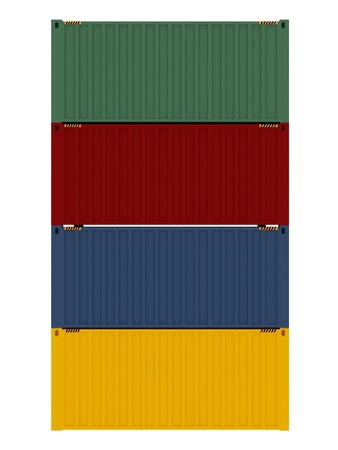 cargo container: High Quality Cargo Container - Isolated Object Series