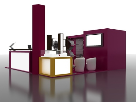 exhibition stand: Exhibition Stand Interior Sample