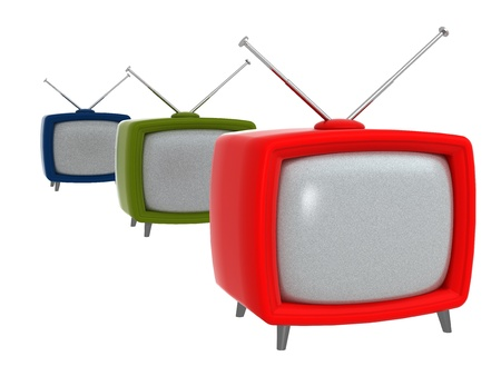 Old Style TV-Sets 1960s - Computer Art Series