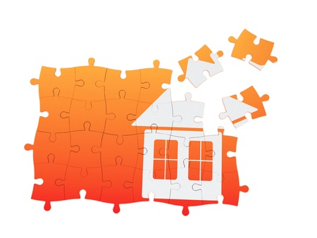 Real Estate Puzzle  | Isolated Object Series photo