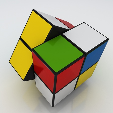 red cube: Color Cube Game