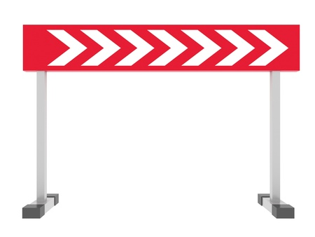pictogramm: Direction Pointers Isolated on white background