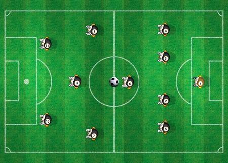 soccer referee: Soccer Field