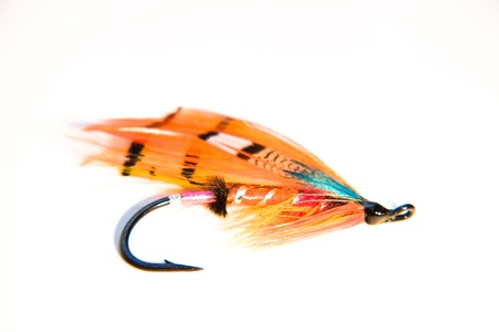 baits: Fishing Fly Stock Photo