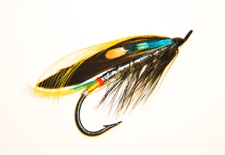 Fishing Fly Stock Photo