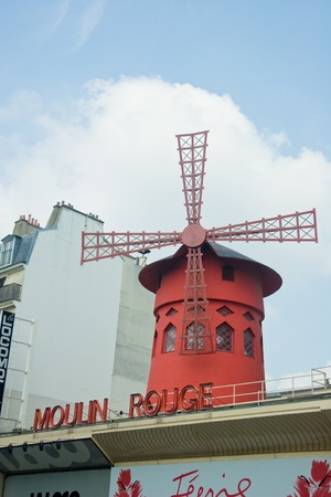 Moulin Rouge Stock Photo - 10719532