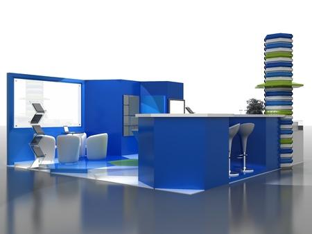 Exhibition Stand Interior Sample - Interiors Series  . 3D photo