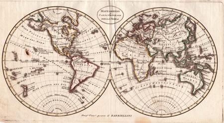 High-quality Antique Map - Barbiellini