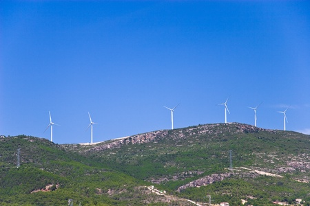 Wind Turbines in Spain Stock Photo - 11600598