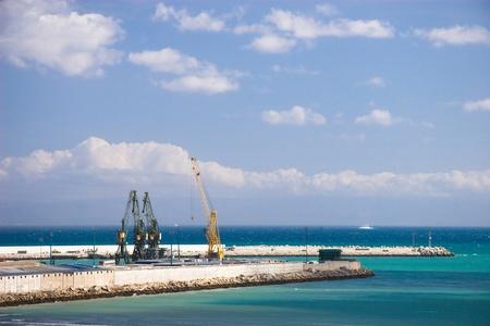 Tangier Port Stok Fotoğraf