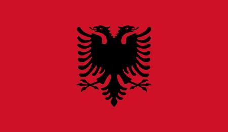 albanie: Drapeau de l'Albanie