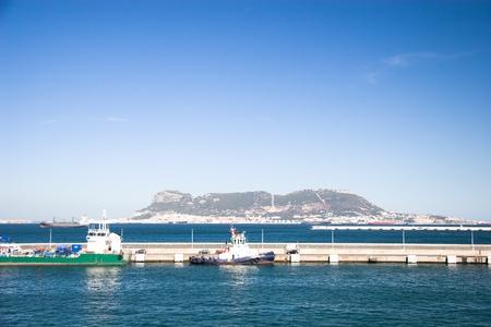 Algeciras Port Stok Fotoğraf
