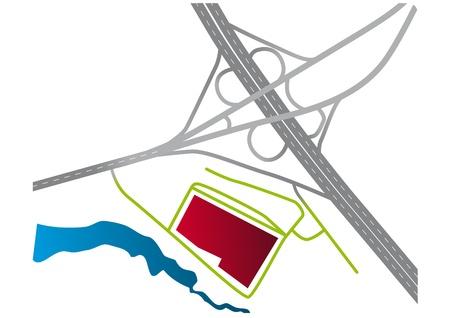 junction: road junction