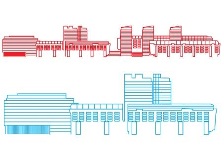 Buildings Stock Vector - 13250492