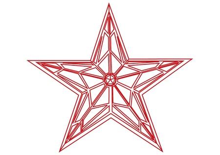 Kremlin star Stock Vector - 13250726