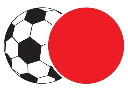 Ball emblem Vector