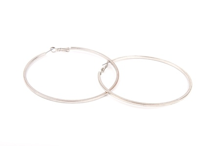Large ear rings Stock Photo - 13438866