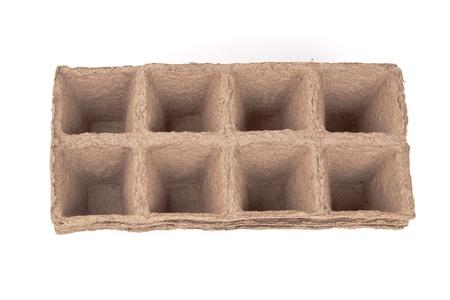 turba: macetas de turba