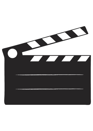 Cinema Slate Vector